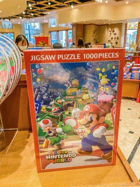 Super Nintendo World Puzzle