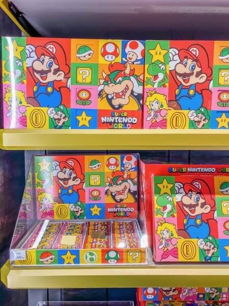Super Nintendo World Cake