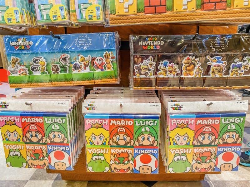 Super Nintendo World Memos