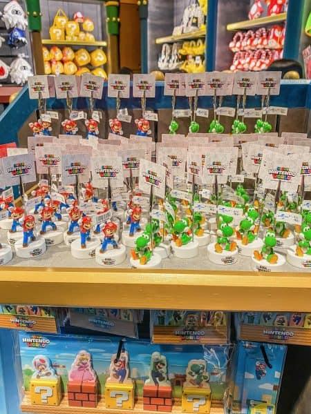 Super Nintendo World Photo Stands