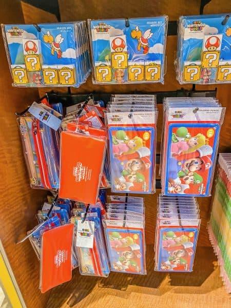 Super Nintendo World Stationery