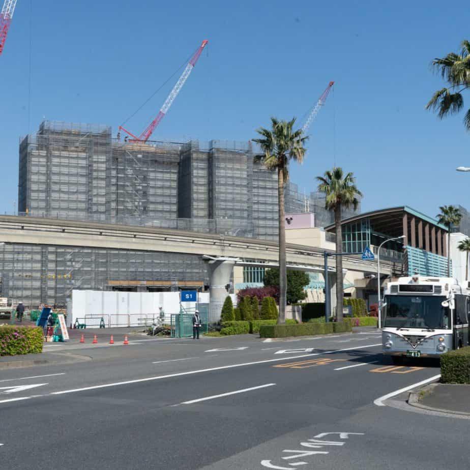 Tokyo DisneySea Fantasy Springs Construction Spring 2021