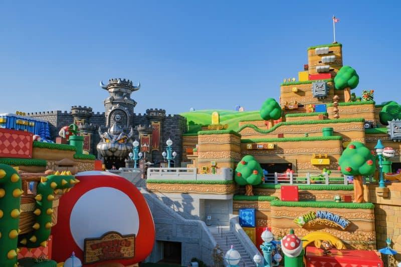 Wide Shot of Super Nintendo World
