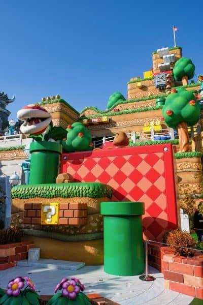 Mario and Luigi Meet and Greet Area