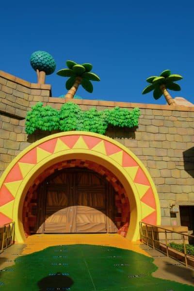 Donkey Kong Coaster Entrance