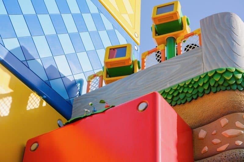 Pikmin at Super Nintendo World