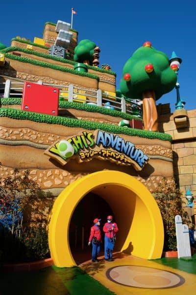 Yoshi's Adventure at Super Nintendo World