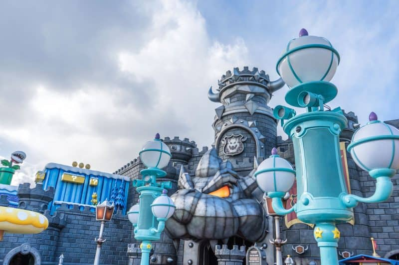 Super Nintendo World Photos - Bowser's Castle
