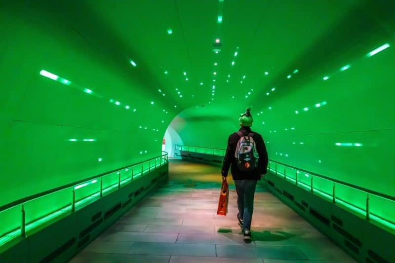 Super Nintendo World Green Pipe Entrance