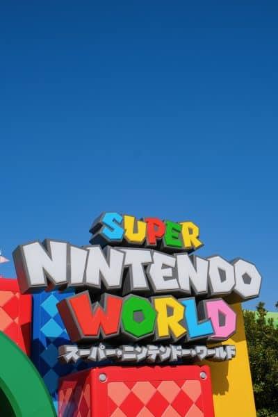 Super Nintendo World Entrance - 8