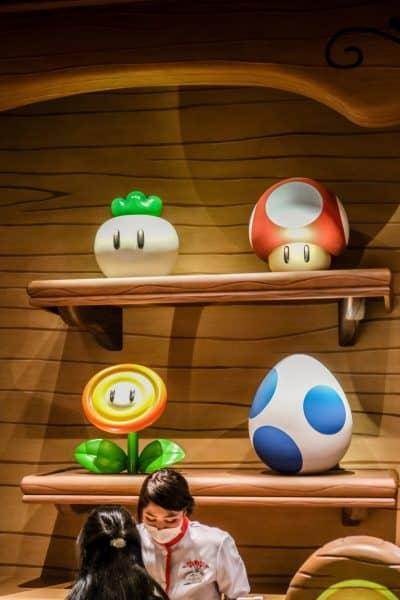 Super Nintendo World Kinopios Cafe Counter