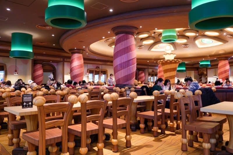 Super Nintendo World Kinopios Cafe Interior
