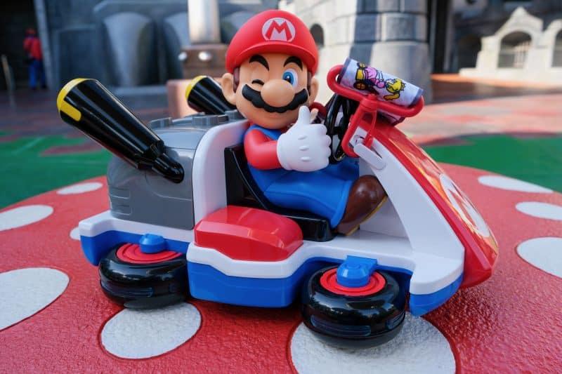 Mario Kart Popcorn Bucket