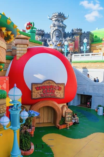Super Nintendo World Photos - Kinopio's Cafe