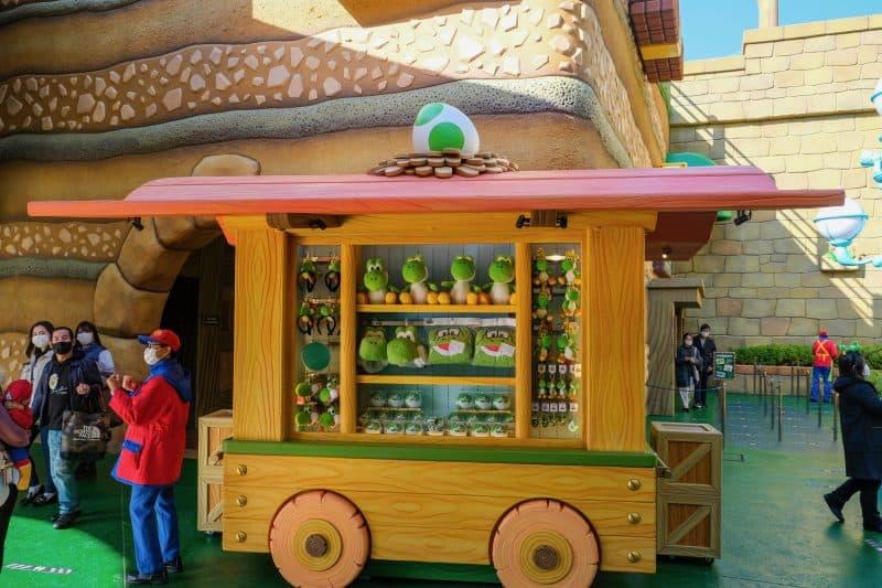 Super Nintendo World Merchandise Cart