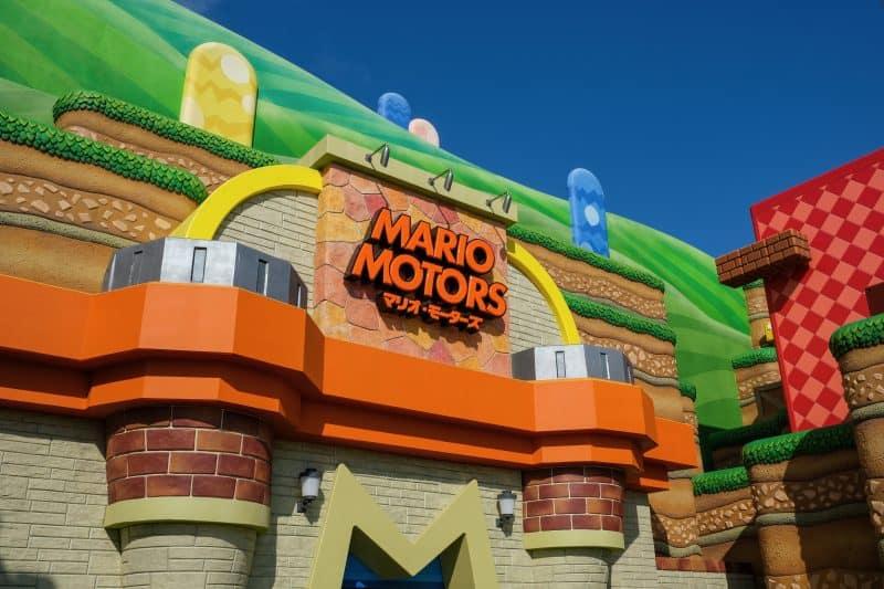 Mario Motors Store Front