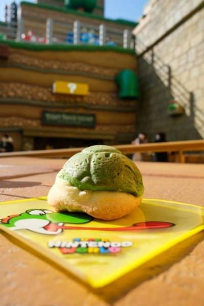 Yoshi's Snack Island Calzone Bun