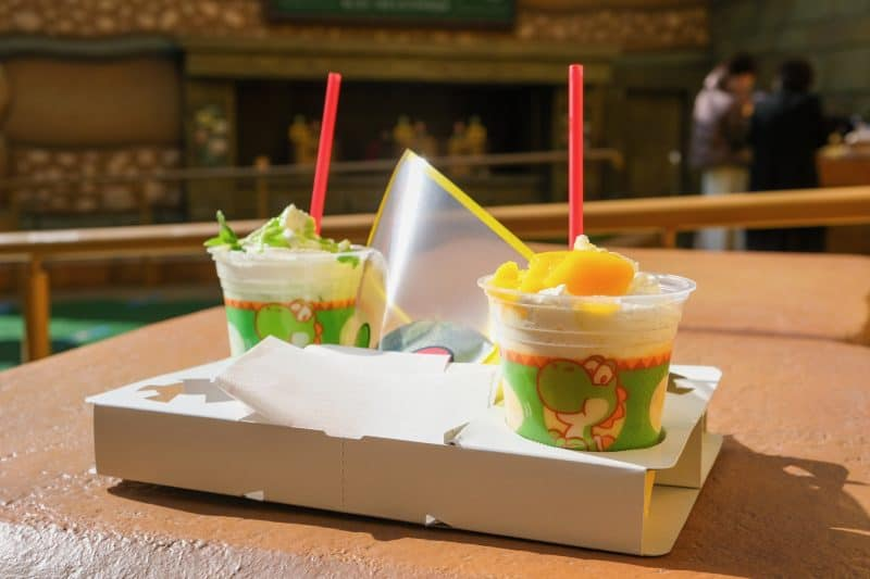Super Nintendo World Yoshi's Snack Island