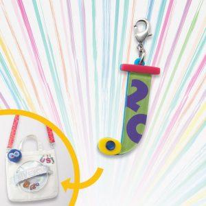 Custom Tote Bag Charm J