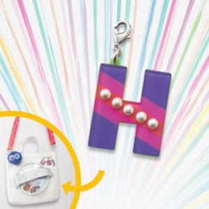 Custom Tote Bag Charm H