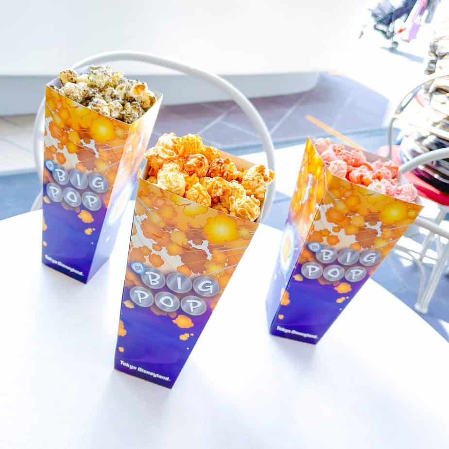 The Big Pop Popcorn Review at Tokyo Disneyland