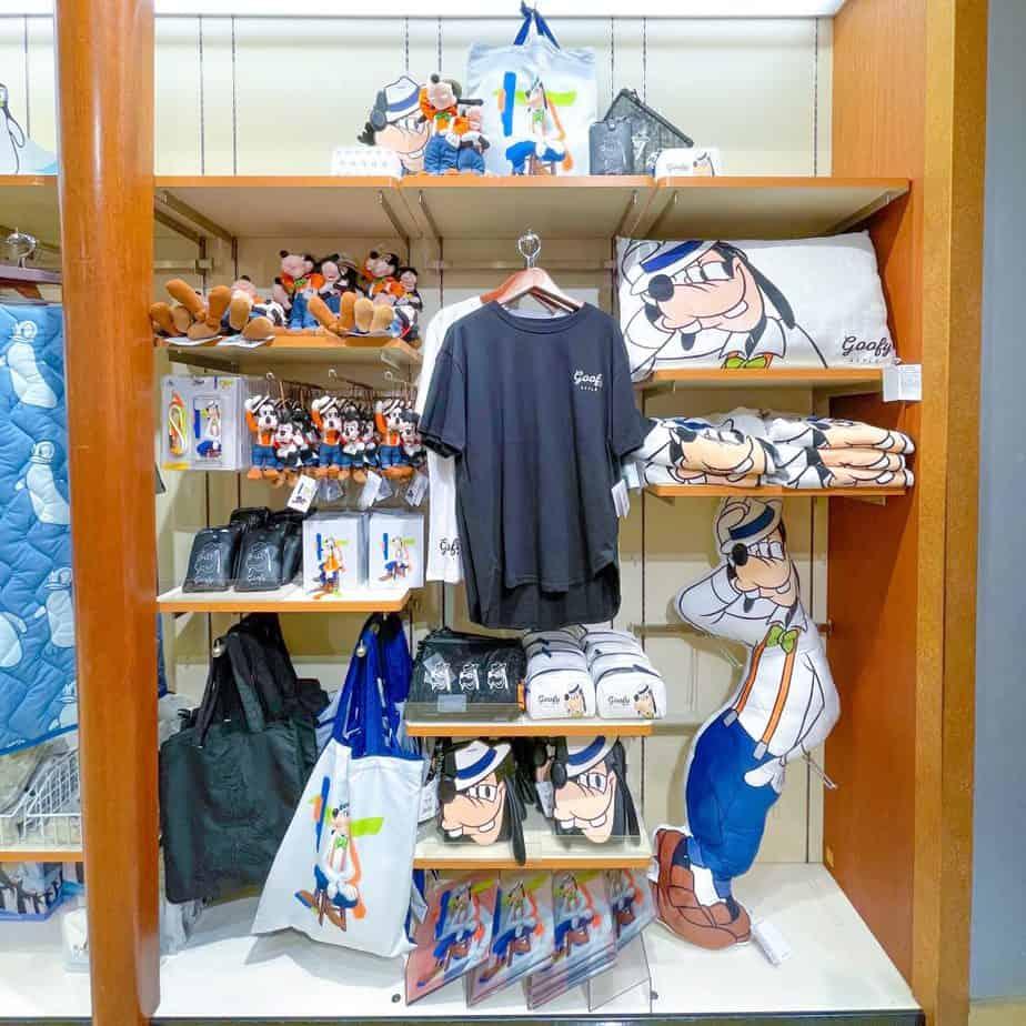 Goofy Style Merchandise at Disney Store Japan