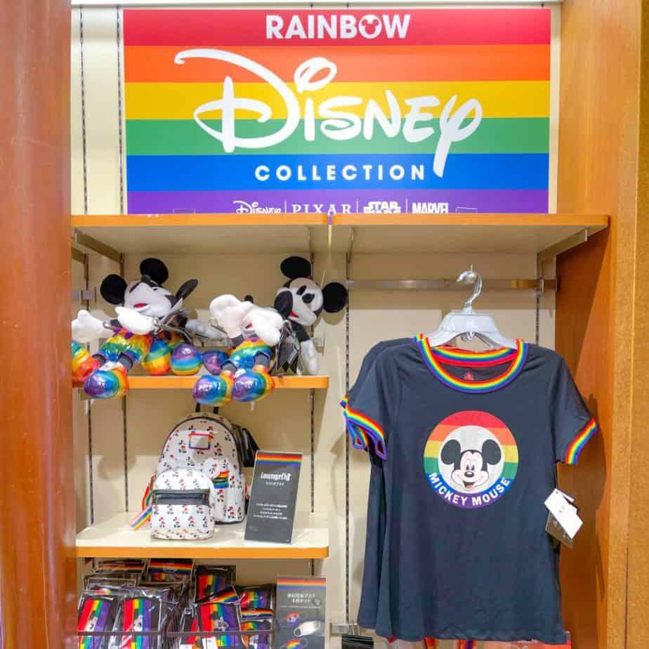 Disney Store Japan Pride 2021 Collection Merchandise