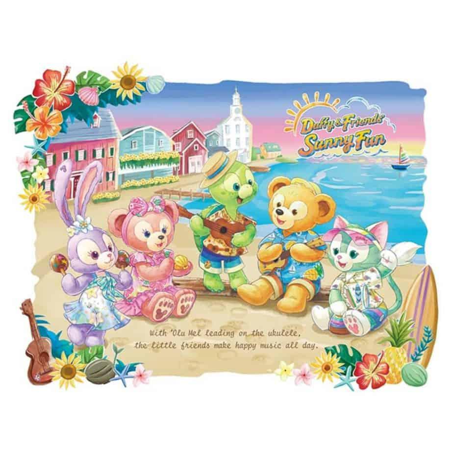 Duffy & Friends' Sunny Fun 2021 at Tokyo DisneySea