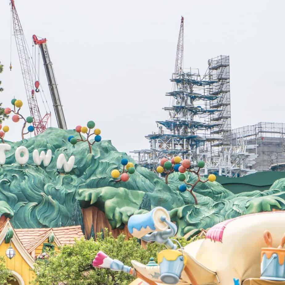 Tokyo DisneySea Fantasy Springs Construction Update (June 2021)