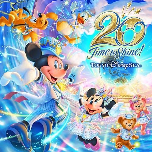 "Tokyo DisneySea 20th Anniversary ""Time to Shine"" Event Details"