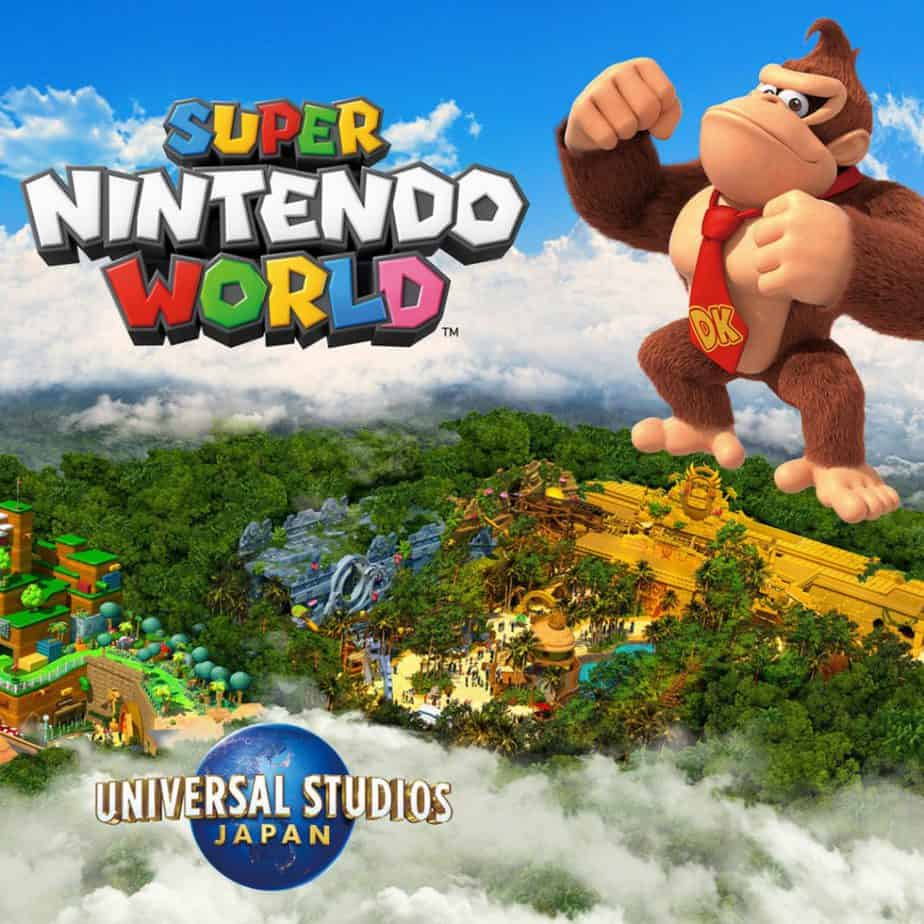 Donkey Kong Expansion Opening in 2024 at Super Nintendo World