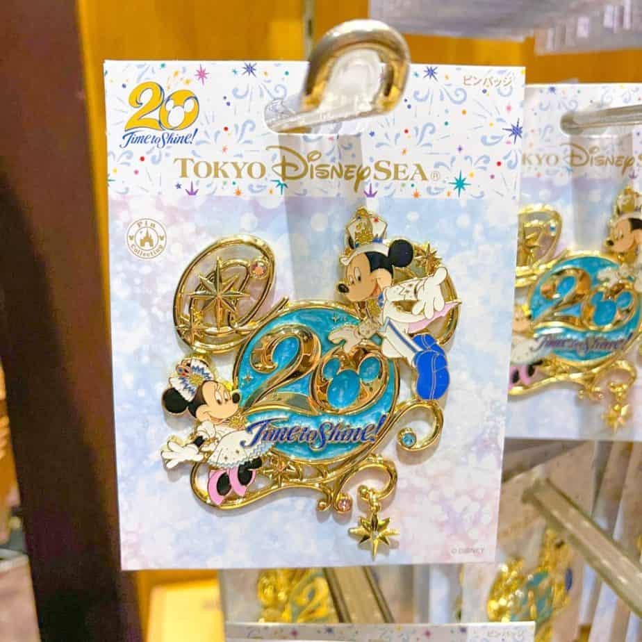 Tokyo DisneySea 20th Anniversary Merchandise