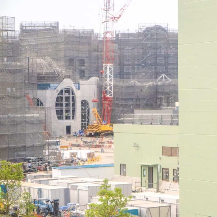 Tokyo DisneySea Fantasy Springs Construction Update Summer 2021